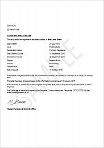 Student letters Student Systems and Records fice University