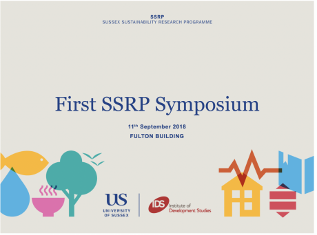 SSRP First Symposium slides