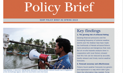 SSRP policy brief 2 forecasting with fishers