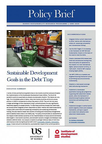 SSRP Policy Brief - Sustainable Development Goals in the debt trap