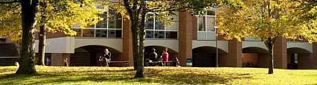picture of campus in autumn