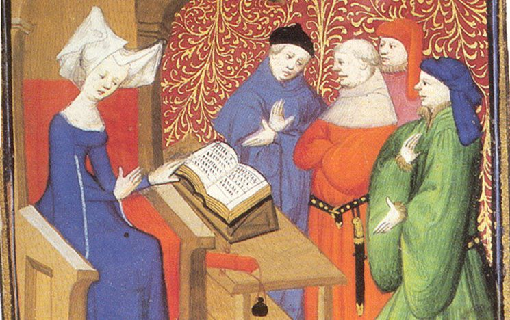Christine de Pisan and cohort