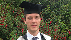 David Twomey, a graduate of the University of Sussex Business School