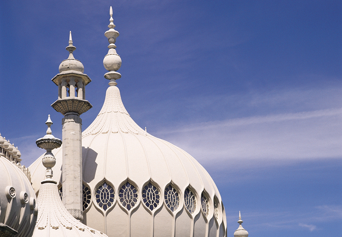 The top of the Royal Pavilion in Brighton & Hove