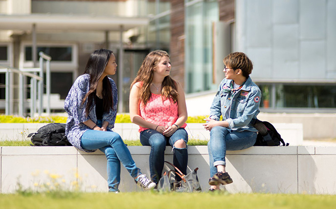 Student studying at University of Sussex