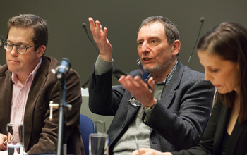 Sussex experts sitting on a discussion panel