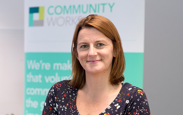 Sally Polanski, the CEO of Brighton-based charity Community Works