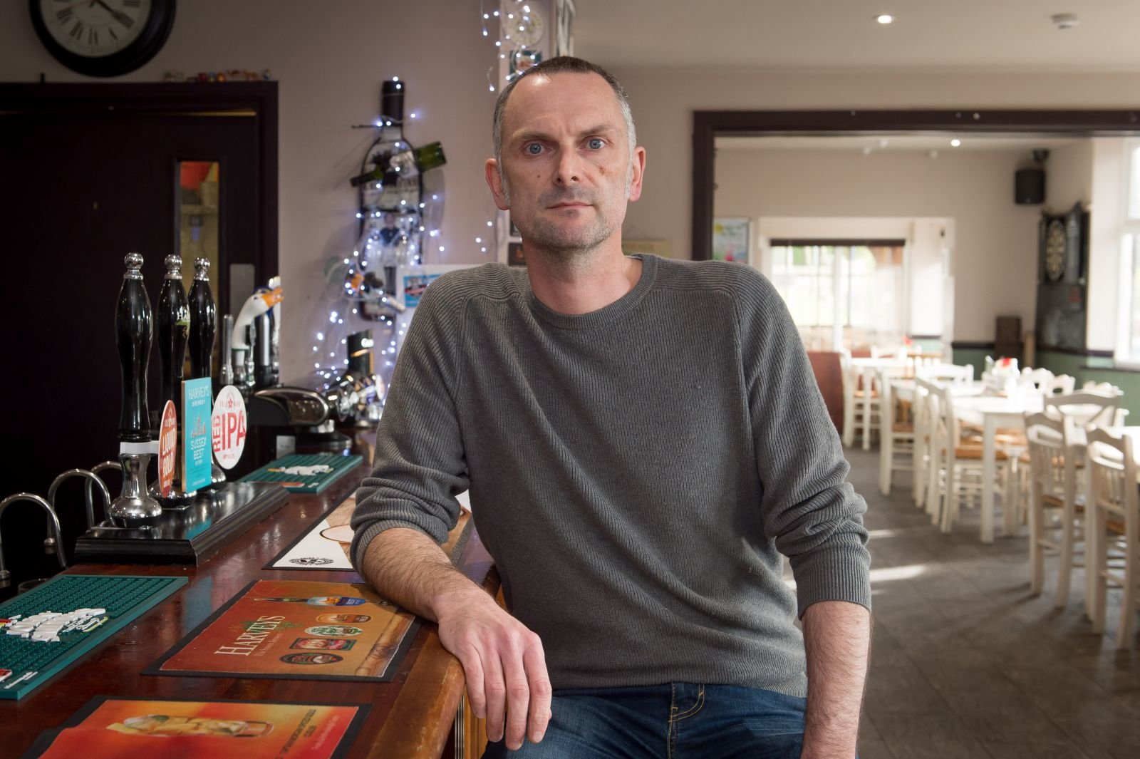Iain Chambers who is is general manager of The Bevy, Moulsecoomb's award-winning community pub