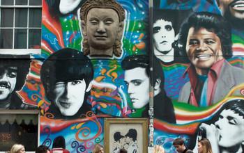 Graffiti art in the city of Brighton and Hove