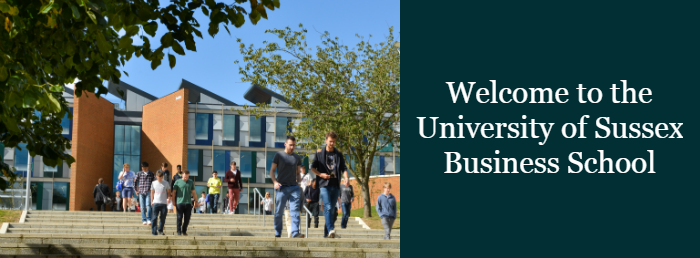 Welcome to the University of Sussex Business School