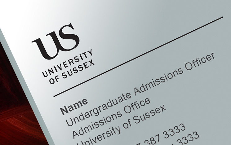University of Sussex email