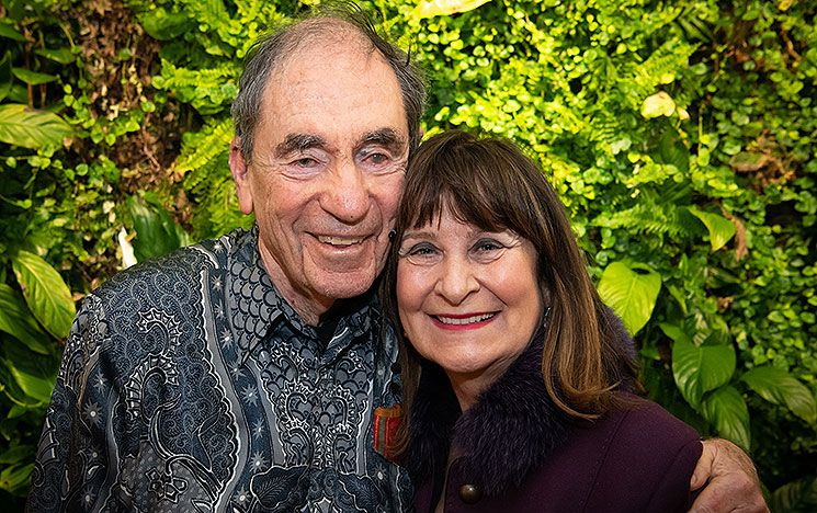 Albie Sachs and Helena Kennedy
